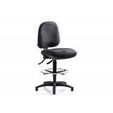 RE2D Mid back draughtsman chair with f..