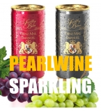 Pearlwine sparkling 200ml slim can PRIVATE LABEL