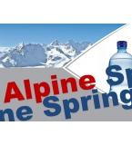 Alpine Spring Water PET 1.5L sparkling
