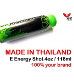Energy Shot Standard Production - 118ml / 4oz - 150,000 units