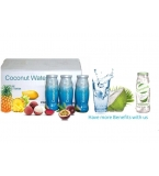 "Aseptic Young Coconut Water - Twist 300ml Glass Bottle - Minimum Order start with 1x20"" Container"