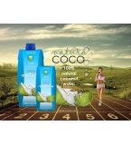 COCO Natura® Coconut Water - Tetra Packing, Glass Bottles READY MADE