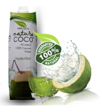NATURA COCO® Pure Premium Coconut Water, Natural Tetra packed 1 Liter