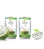 NATURA COCO Pure Premium Coconut Water, Natural Aluminum Can packed 310ml