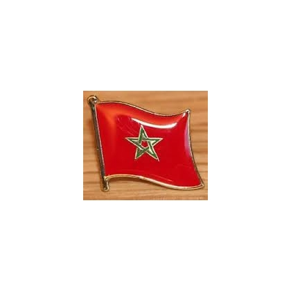 Moorish Flag Pin