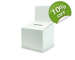 Cardboard Medium Ballot / Suggestion Box - with..