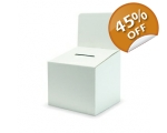 Cardboard Large Ballot / Suggestion Box - with ..