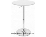GAS LIFT BAR TABLE WHITE