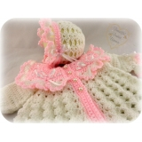 51 - Matinee Set Traditional Baby Coat..