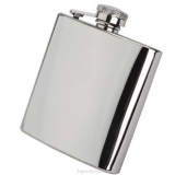 6oz Shiny Hip Flasks