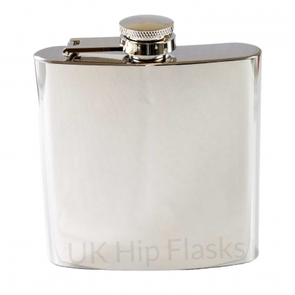 6oz Shiny Hip Flask