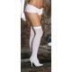 White opaque thigh high hold ups E..