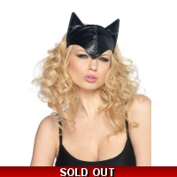Black Cat Woman Mask Femm..