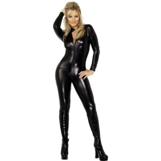 Black Catsuit 'Miss Whi..