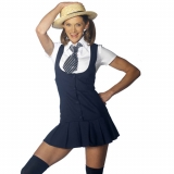 St Trinians Fancy Dress School Girl Ou..