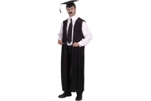 Black School Teacher´s Gown