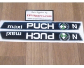 Puch MAXI ´N´ Tank Decals
