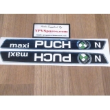 Puch MAXI 'N' Tank Decals