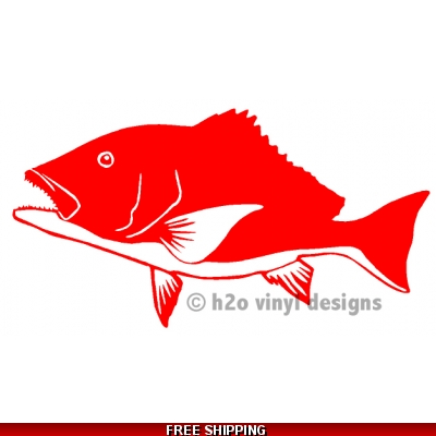 Red Snapper ARS - Vinyl Sticker