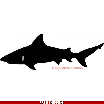 Bull Shark - Vinyl Sticker