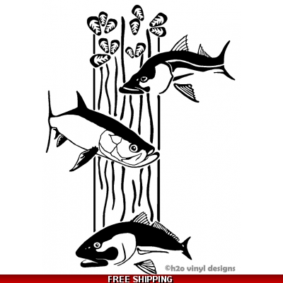 Dream Dock Snook, Redfish, Tarpon - Vinyl Sticker
