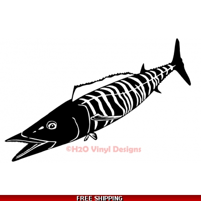 Wahoo - Vinyl Sticker