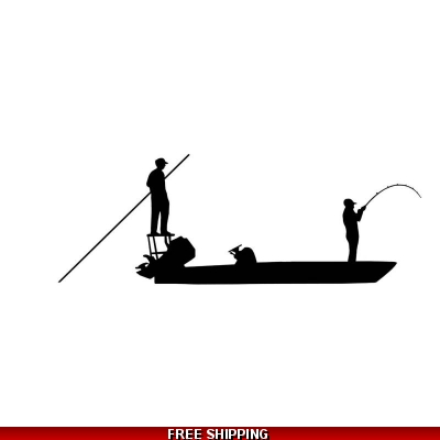 Flats Fishing - Vinyl Sticker