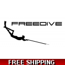 Spearfishing Freediver ..