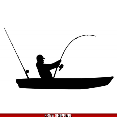 Kayak Fishing - Vinyl S..