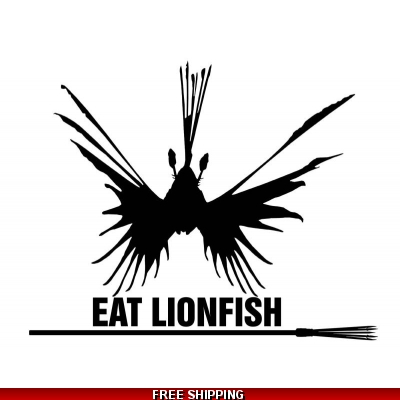Eat Lionfish - Vinyl St..