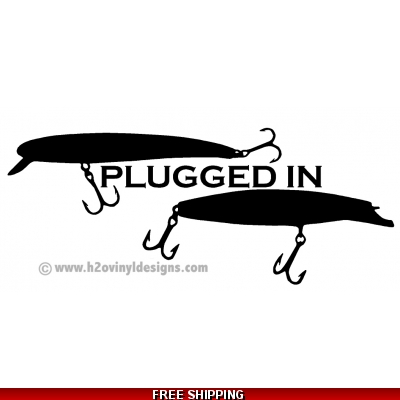 Plugged In - Vinyl Sticker
