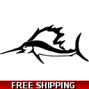 Sailfish - Vinyl Sticker