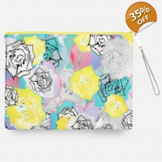 Limited Edition Varro digitally printed portfolio clutch bag