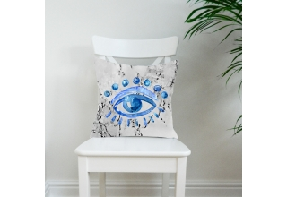 Trafalgar Eye cushion cover