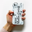 Marbled style 01 personalised phone case