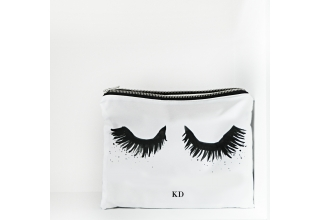 Upper East Eyelash monogram portfolio clutch bag