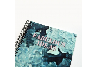 Romy crystal print notebook - Fabulous Ideas