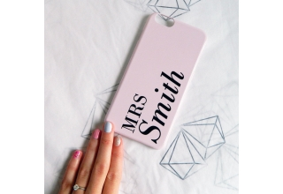 Dusty Pink Style 03 personalised phone case