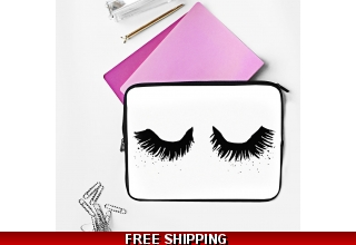 Upper East Eyelash Laptop case