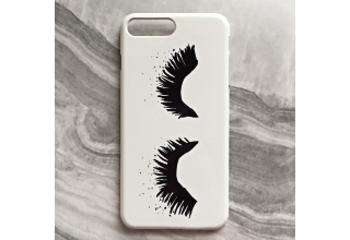 Upper East Eyelash phone case