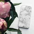 Marble print phone case