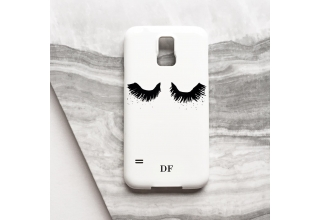 Upper East Eyelash monogram phone case