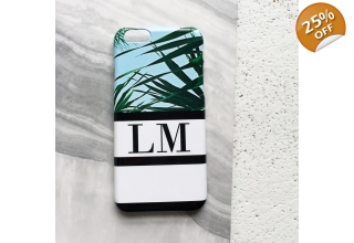 Kuta collection monogram phone case - sport stripes