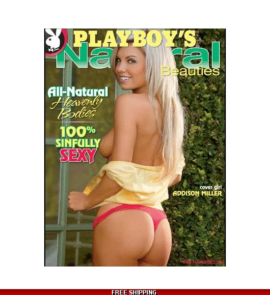Signed Playboy's Natural Beauties