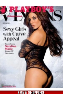 Signed Playboy's Voluptuous Vixens June/July 2011