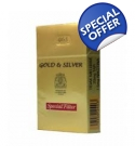HS Gold & Silver Tobacco 100ml