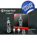 Kanger ProTank 3 kit with Pyrex glass..