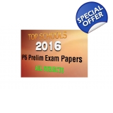 2016 P6 PRELIMINARY PAPERS