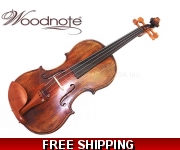 Woodnote New - 4/4 Antique Style Violin with Dominant 135B Violin Strings