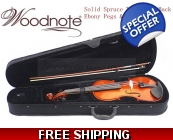 Woodnote VB-310E Solid Wood/Spruce Top/Maple Bac..